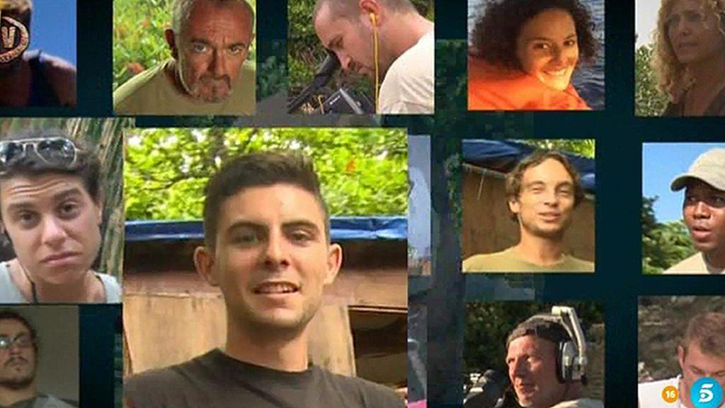 El equipo de 'Supervivientes' se depide de Honduras con un homenaje a Santi Trancho