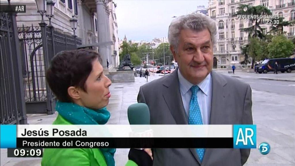 """Jesús Posada: """"No aconsejo retar a Mariano si quieres hacer carrera política"""""""
