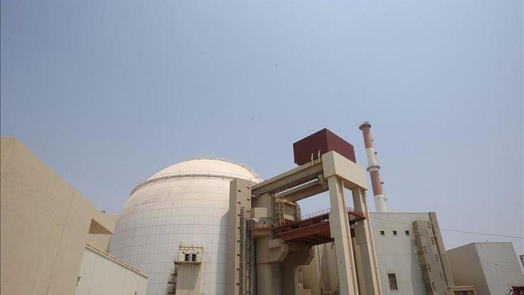 Vista general decentral nuclear de Bushehr (Irán). EFE/Archivo