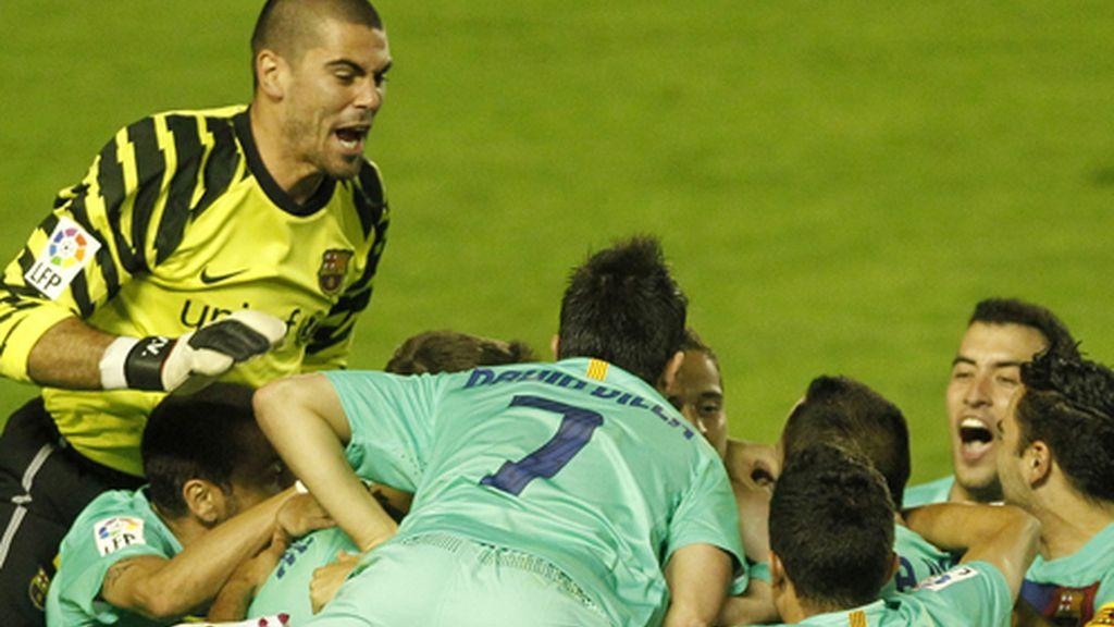 Barcelona campeón de Liga