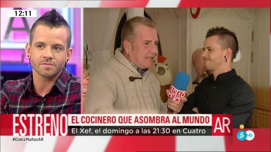 """Dabiz Muñoz: """"Siempre que hablamos de éxito se nos olvida contar la cara más dura"""""""