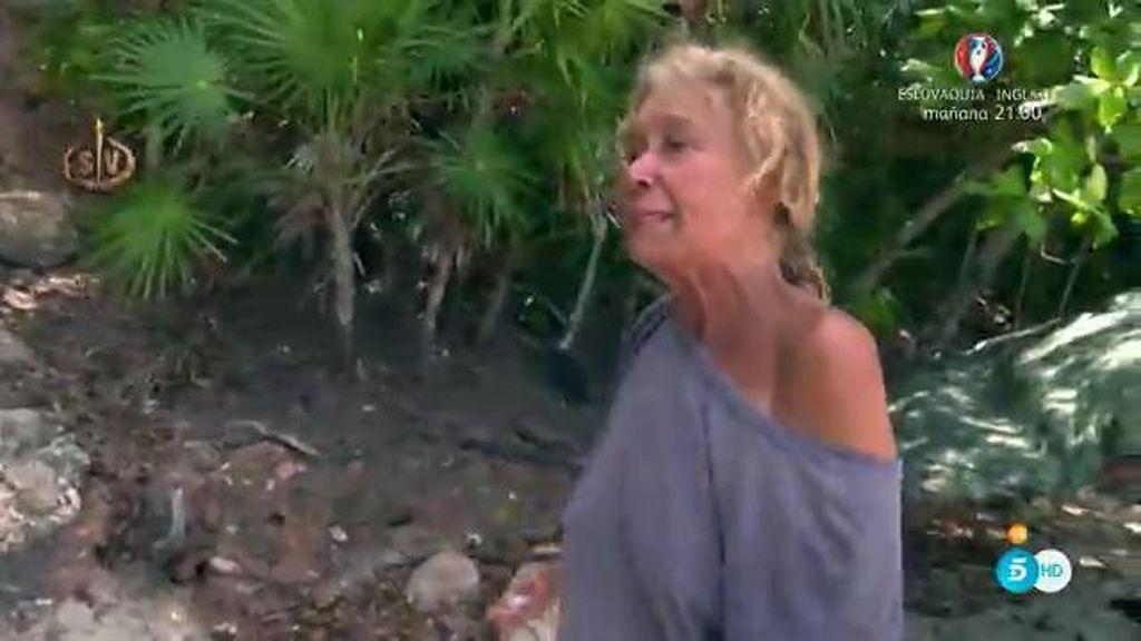 """Mila: """"Esto es la isla de los muertos vivientes"""""""