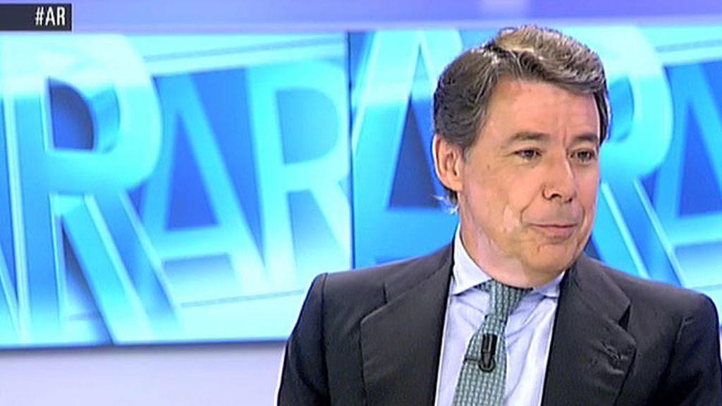 """I. González: """"Aguirre es quien más tirón tiene entre los electores del PP para la alcaldía"""""""