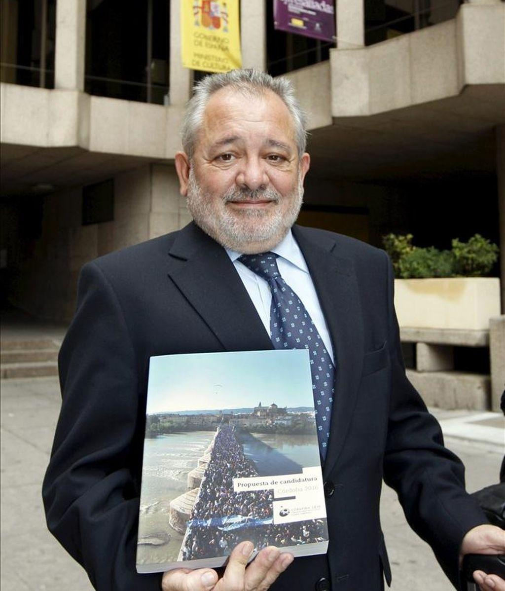 El alcalde de Córdoba y presidente de la Fundación Córdoba Ciudad Cultural, Andrés Ocaña. EFE/Archivo
