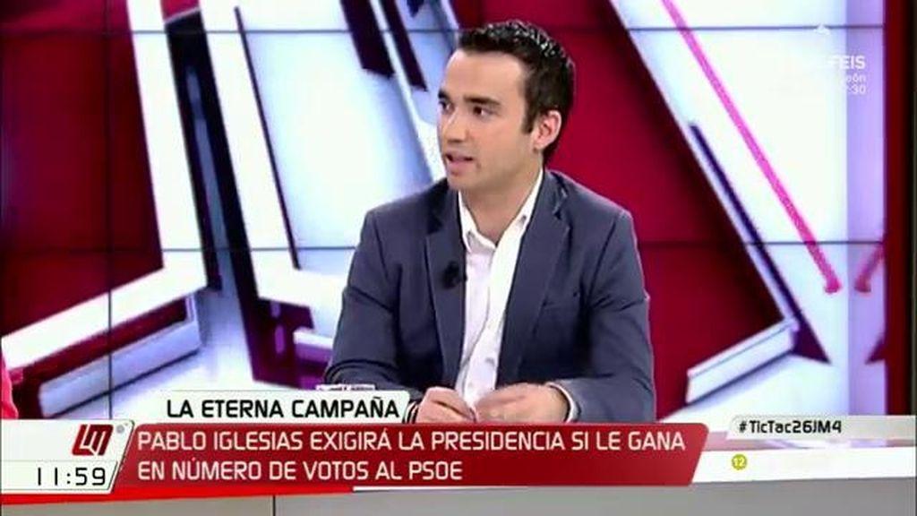 """Pablo Yáñez (C's): """"Ni Podemos con su cambio a peor ni Rajoy quieto generarán un proyecto que seduzca a la cámara"""""""