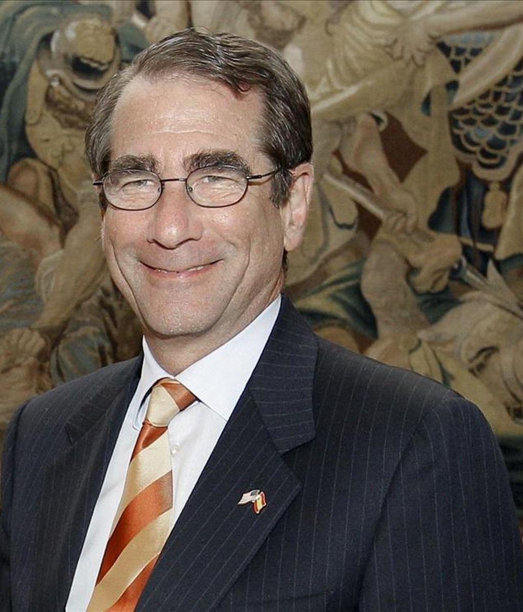 El embajador de Estados Unidos en España, Alan Solomont. EFE/Archivo