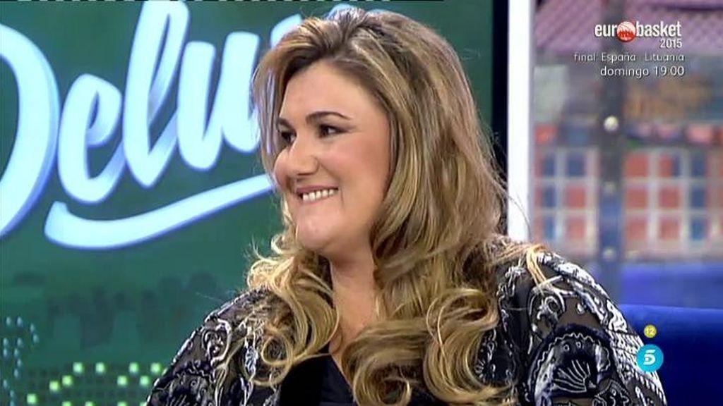Carlota Corredera emociona en Deluxe con un video de su bebé recién levantada