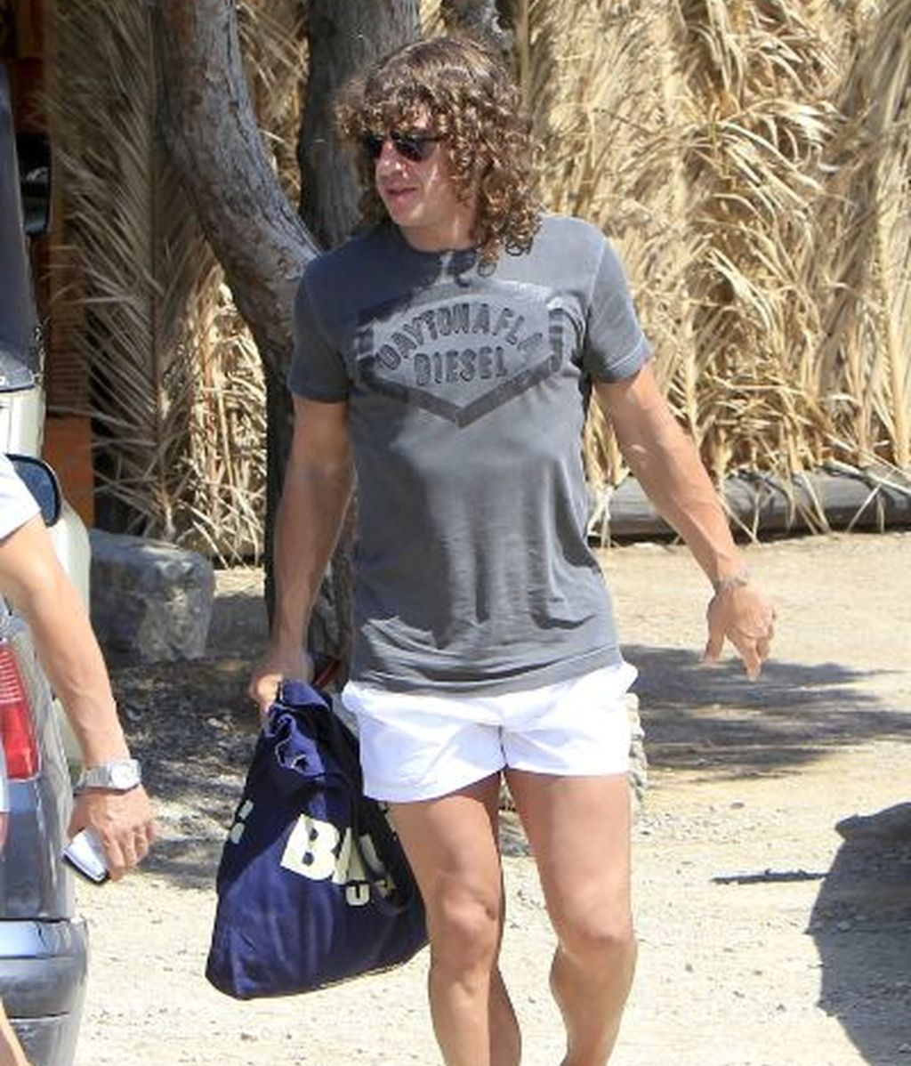 Carles Puyol, en Ibiza