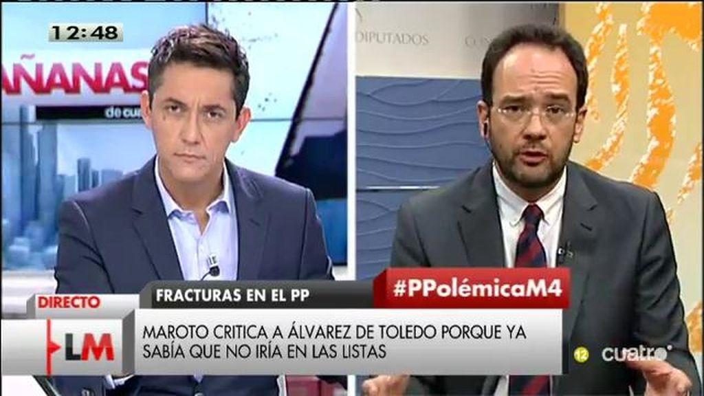 """Hernando: """"Quien haya seguido la trayectoria de Mariano Rajoy, sabe que no va a cambiar"""""""