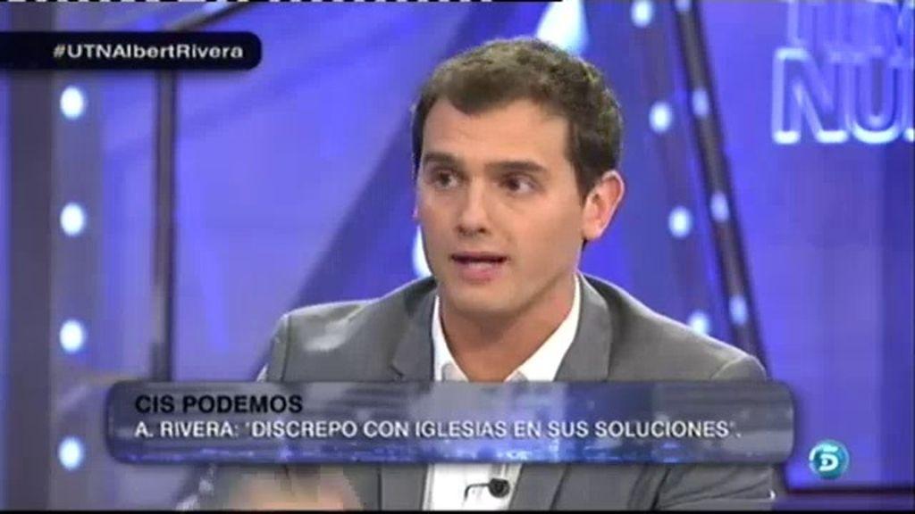"""Albert Rivera: """"Ya estamos trabajando para presentarnos al Congreso de los Diputados"""""""