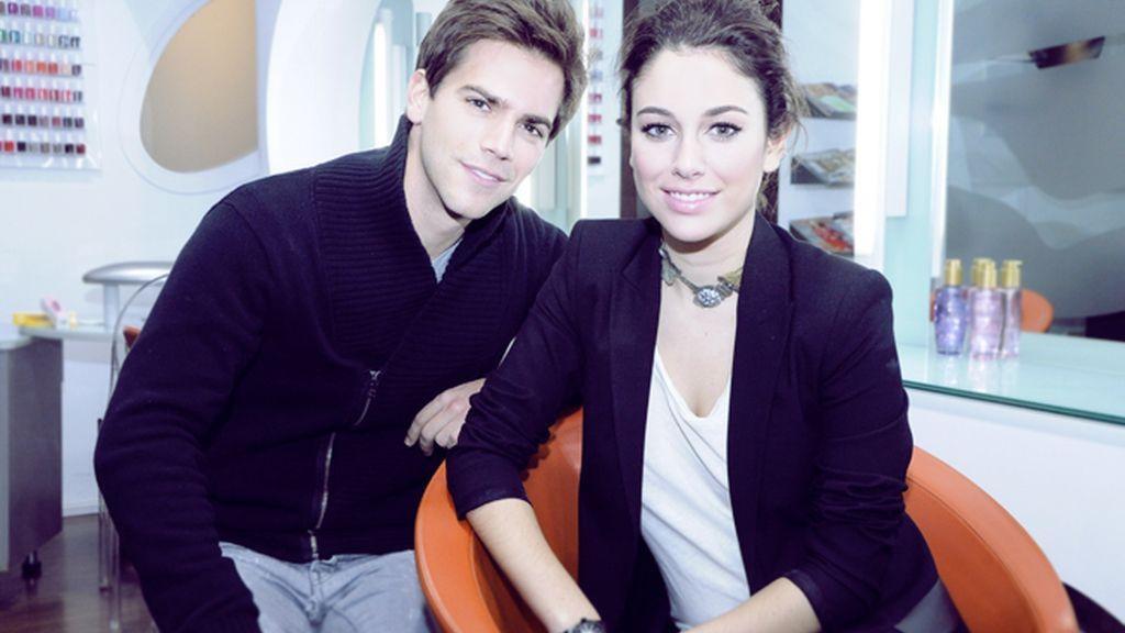 Marc Clotet y Blanca Suárez, dos guapísimos actores muy implicados en la lucha contra el sida