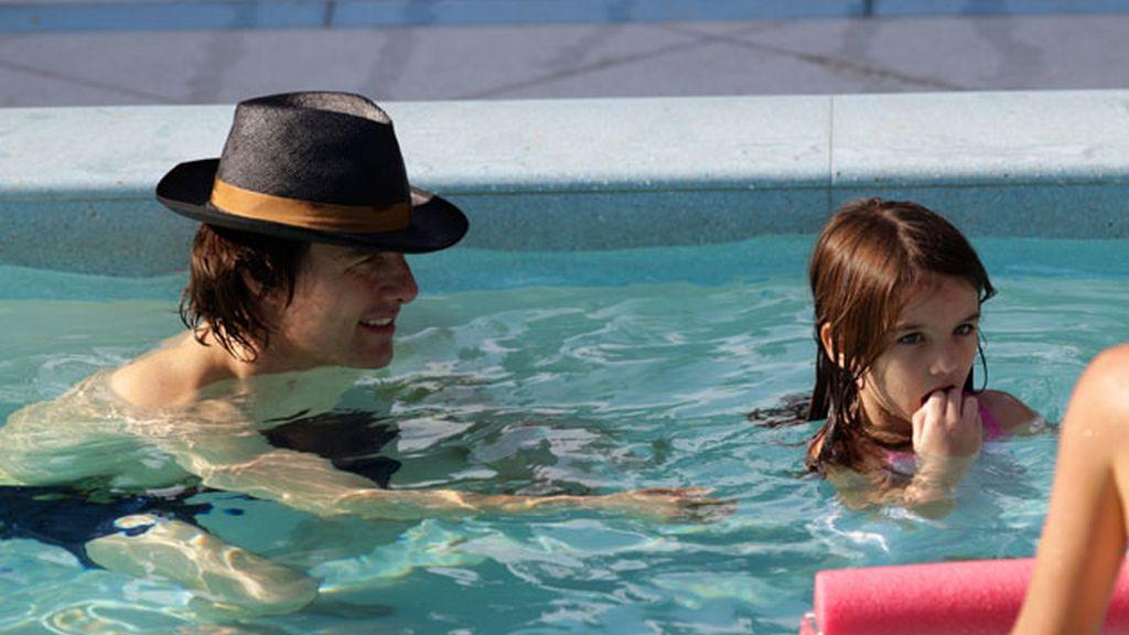 La familia Cruise se relaja en Miami