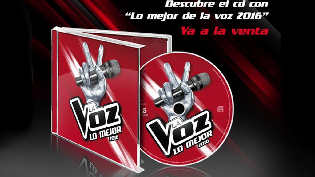 CD Lo mejor de la Voz 2016