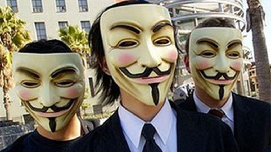 El grupo de ciberactivistas Anonymous realiza acciones a nivel mundial. FOTO: EFE/Archivo