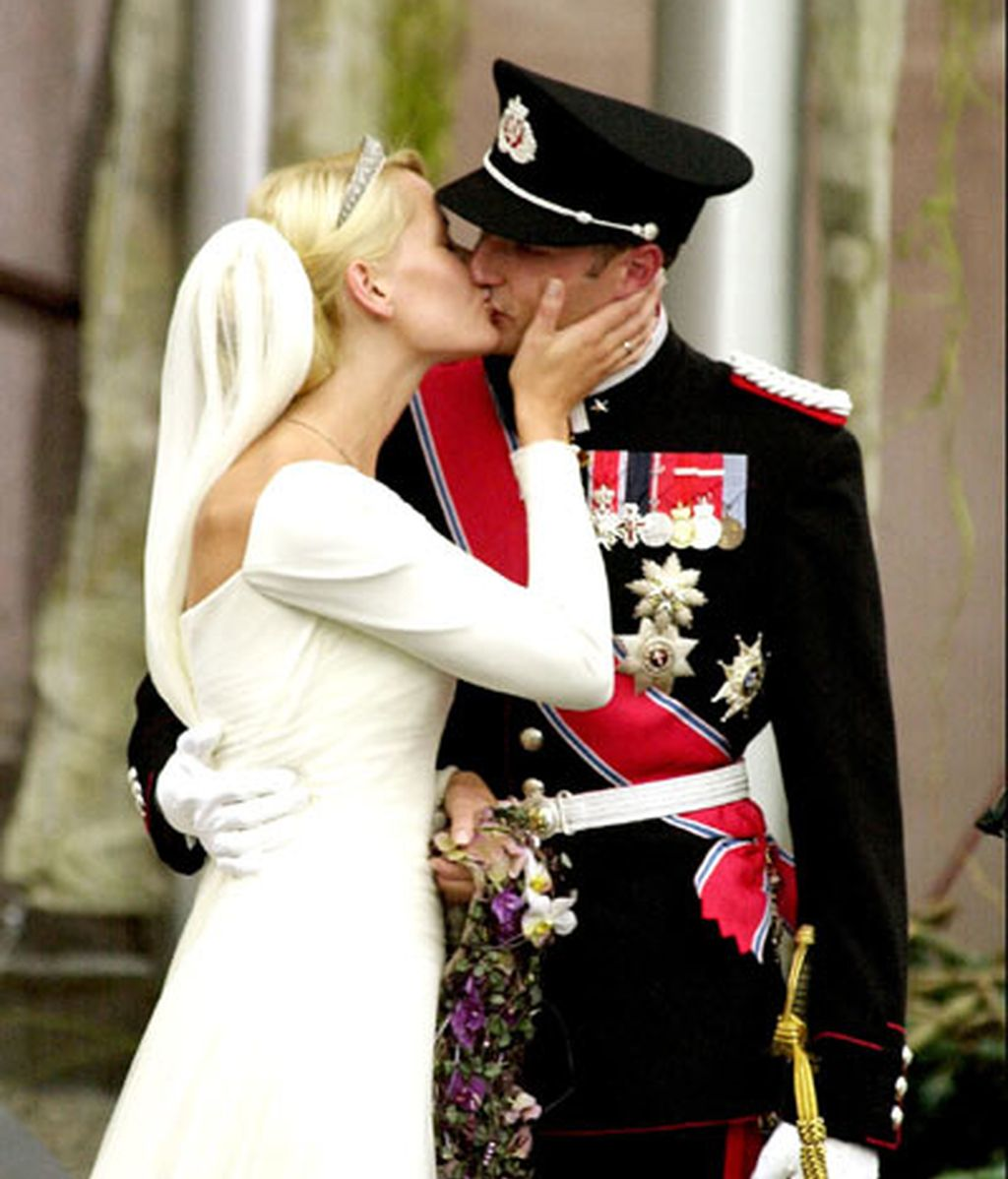 El príncipe Haakon de Noruega y Mette Marit
