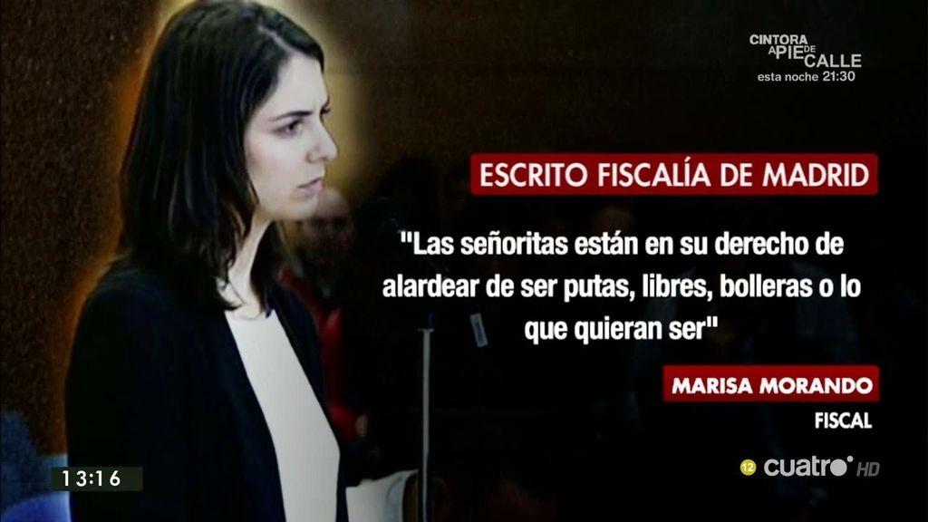El polémico escrito de la Fiscalía de Madrid ante el recurso de Rita Maestre