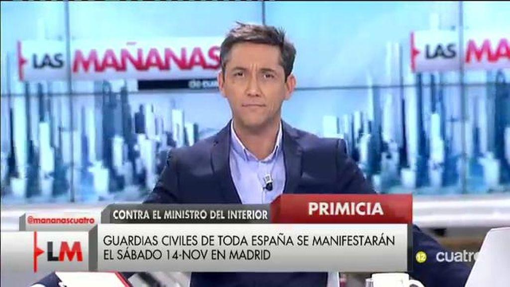 """Primicia 'LMDC': La Guardia Civil convoca manifestación contra el Ministro"""""""