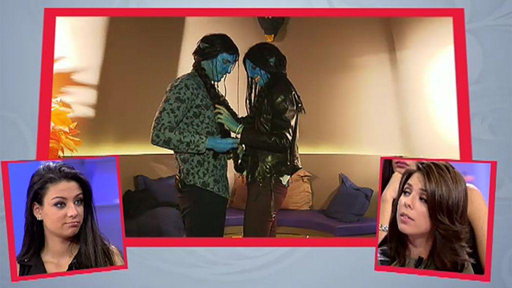 Avatar y Avatarina, primer beso trenza