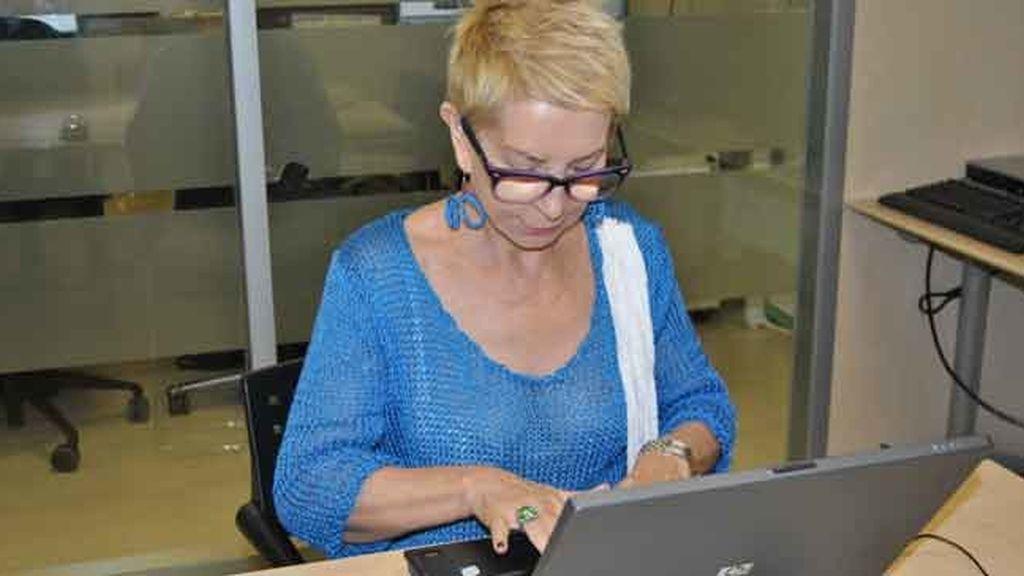 Karmele Marchante visita telecinco.es
