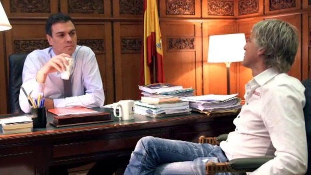"""P. Sánchez: """"Yo dudo mucho de la voluntad de Rajoy por luchar contra la corrupción"""""""