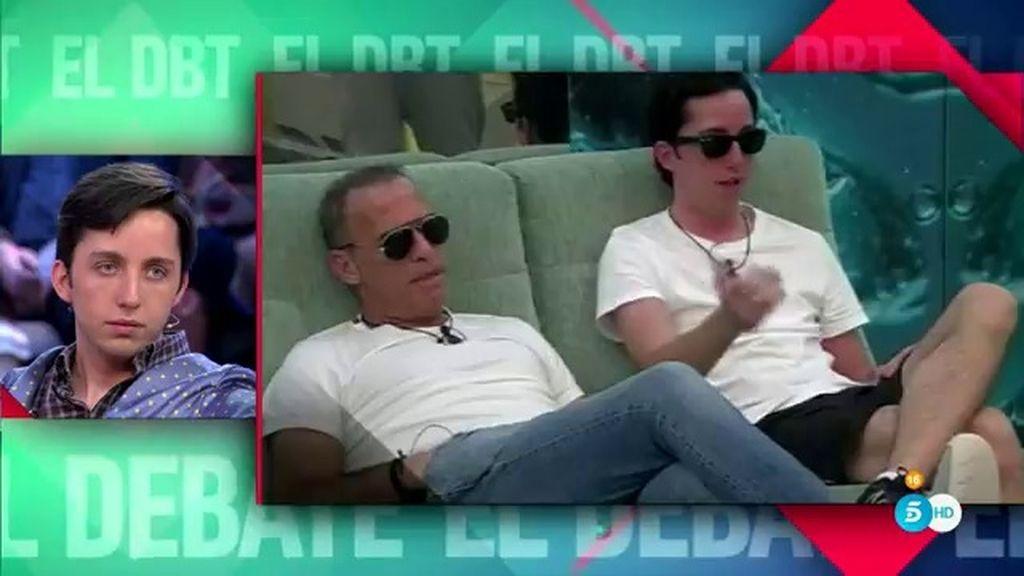 """Carlos, tras la broma de Fran: """"Si me pone los cuernos, me los llevaré a casa"""""""