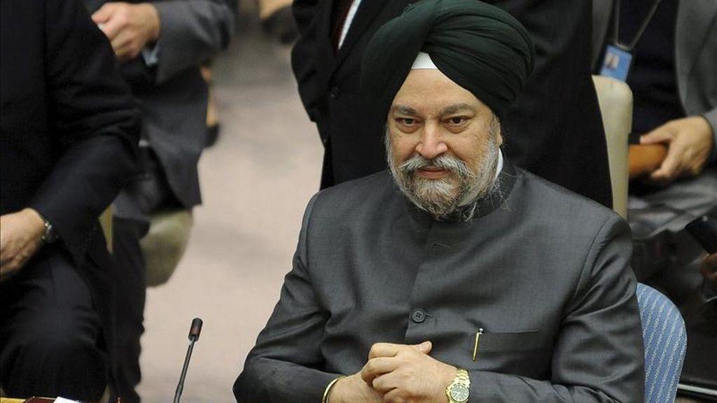 El presidente del Comité, Hardeep Singh. EFE/Archivo