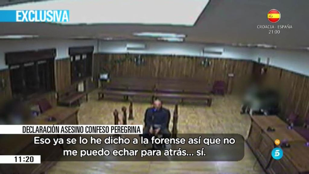 """El asesino de la peregrina: """"Me arrepiento y no lo volveré a hacer"""""""
