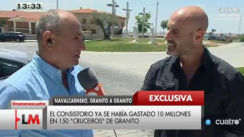 El alcalde de Navalcarnero aprobó el gasto de 2 millones en granito antes de su relevo