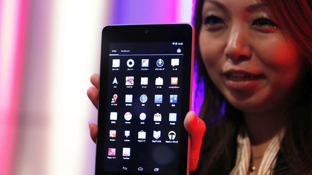 Este es el Nexus 7, la tableta de Google