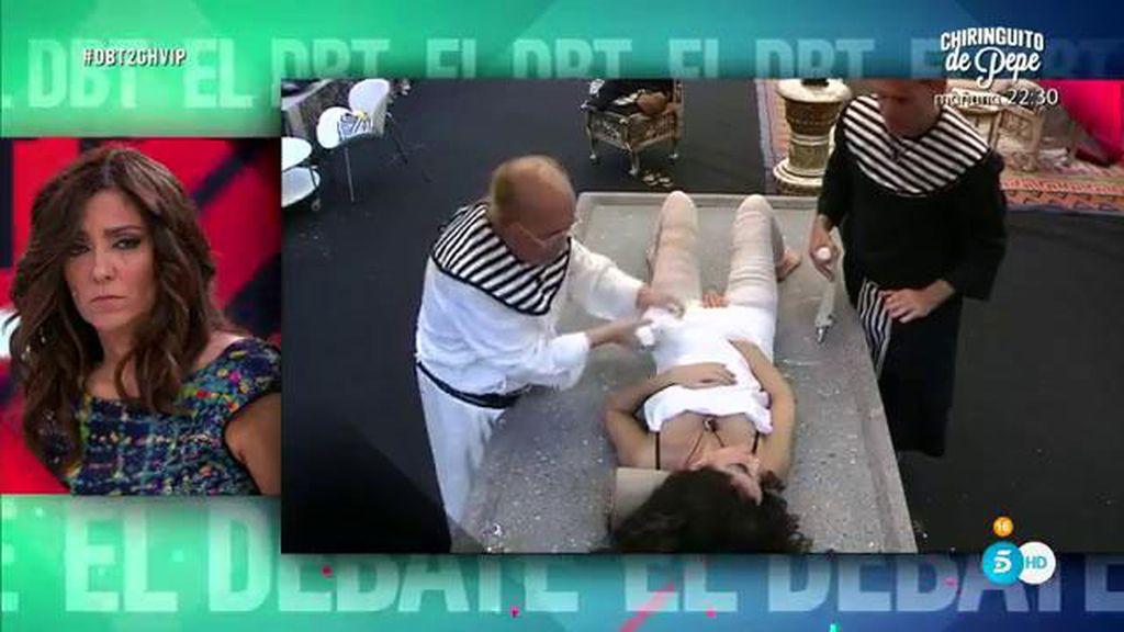 Así ocurrió todo: Las imágenes del polémico embalsamiento de Carmen, sin efectos