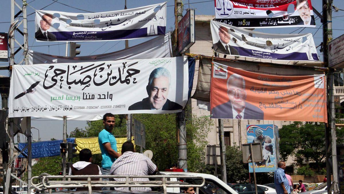 Preparativos de las elecciones en Egipto