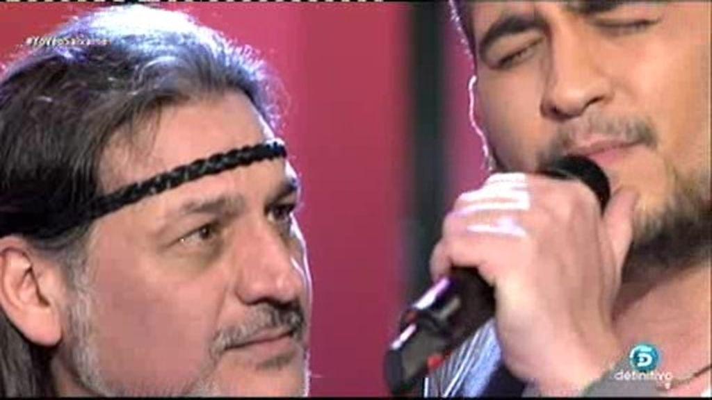 Dioni de 'Camela' y su hijo Rubén cantan juntos en ¡QTTF!