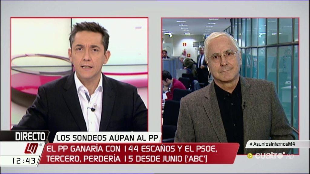 """José María Barreda: """"En el PSOE cada vez somos menos"""""""