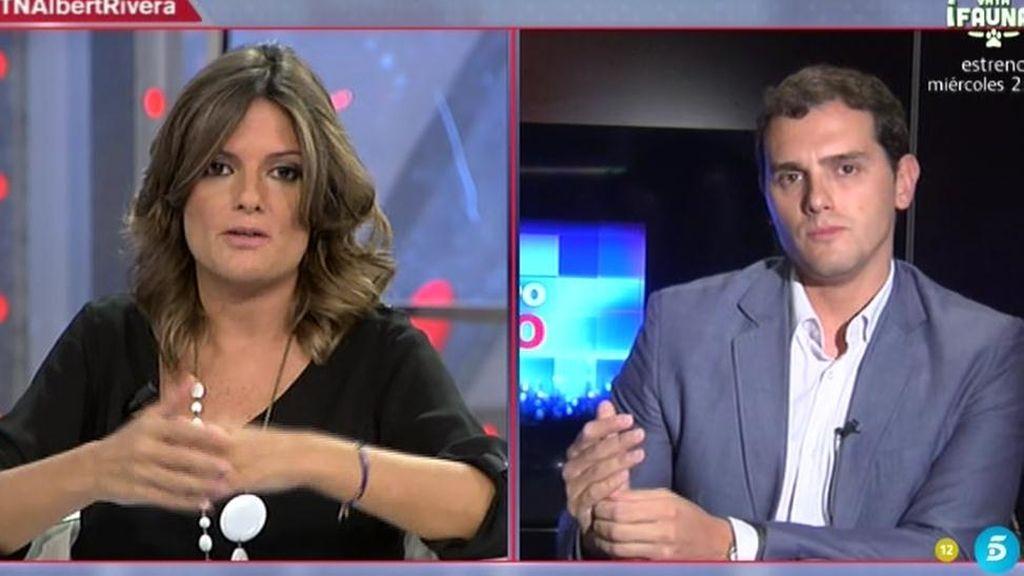 """Albert Rivera: """"El votante de Podemos o PP no son mis votantes pero sí mis compatriotas"""""""