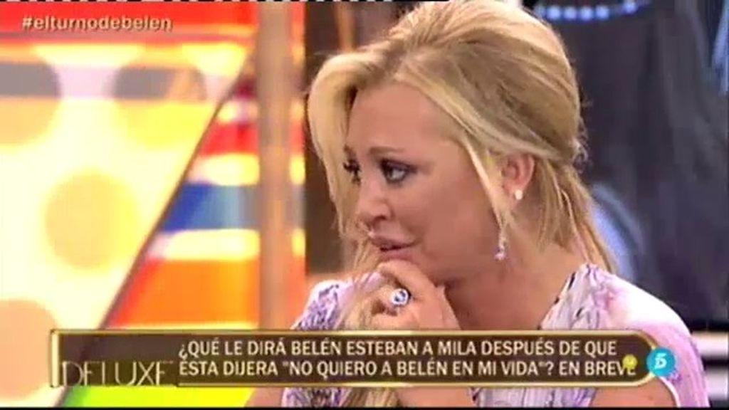 El último 'te quiero' de Belen a Miguel