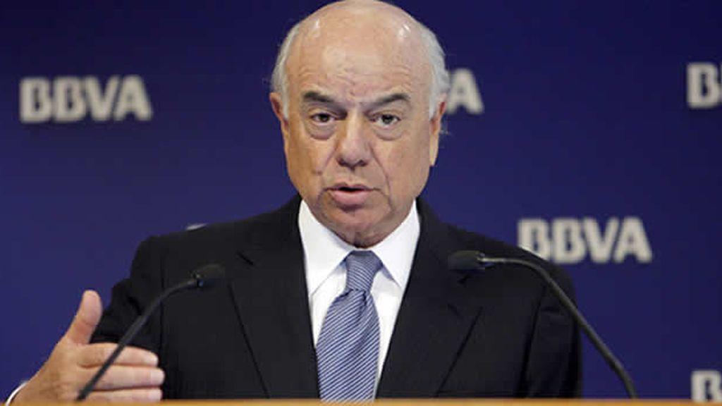 González, máximo responsable del BBVA. Foto: EFE.