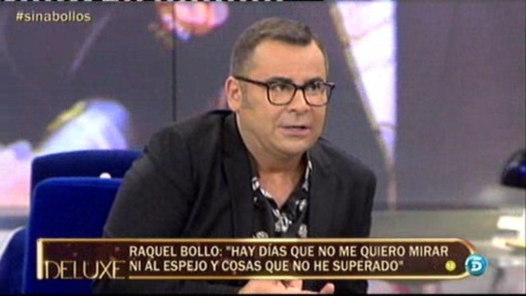 """Jorge Javier Vázquez, a Raquel Bollo: """"Nos molesta que no tomes las riendas de tu vida"""""""