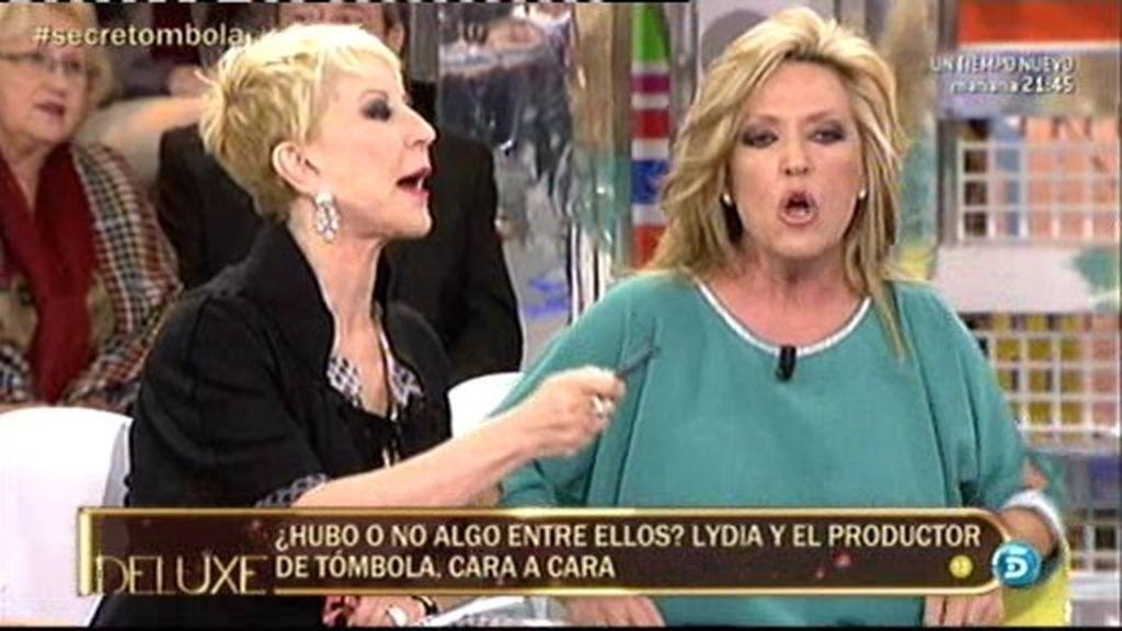 """Lydia, a Karmele: """"No es justo que des una imagen de traficante a Ángel Moreno"""""""