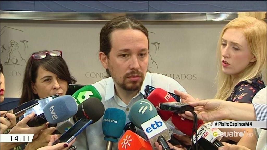 """Pablo Iglesias responde sobre el 'Caso Espinar': """"Hizo lo que haría cualquier persona en una situación como esa"""""""