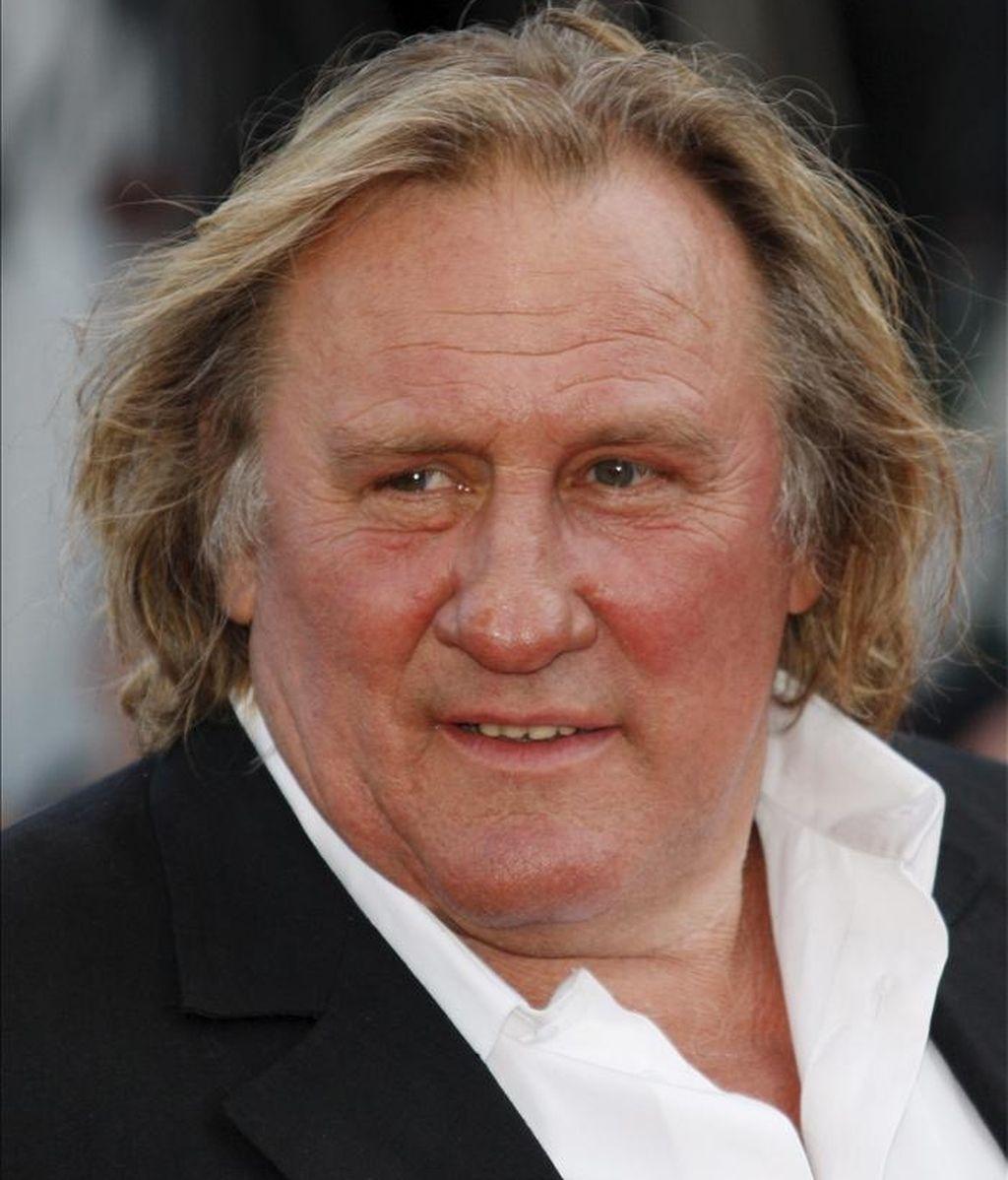 El actor francés Gerard Depardieu. EFE/Archivo
