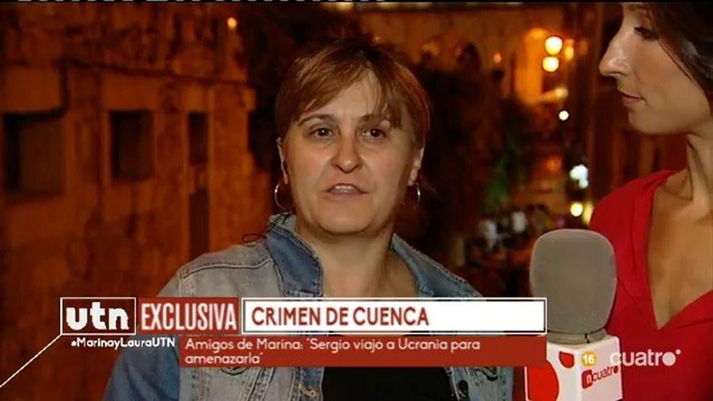 """Luisa, íntima amiga de Marina Okarynska: """"Estoy aquí para homenajearla"""""""