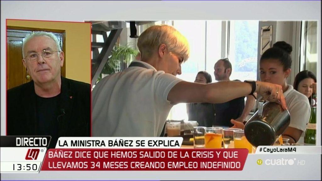 """Cayo Lara: """"Veremos si CiU está dispuesto a derogar la reforma laboral que tanto criticó"""""""
