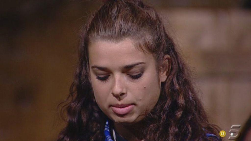La concursante eligió a Raquel Bollo como capataza