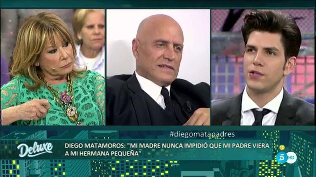 """Diego: """"Mi hermana Laura perdona todo a mi padre porque está enamorada de él"""""""