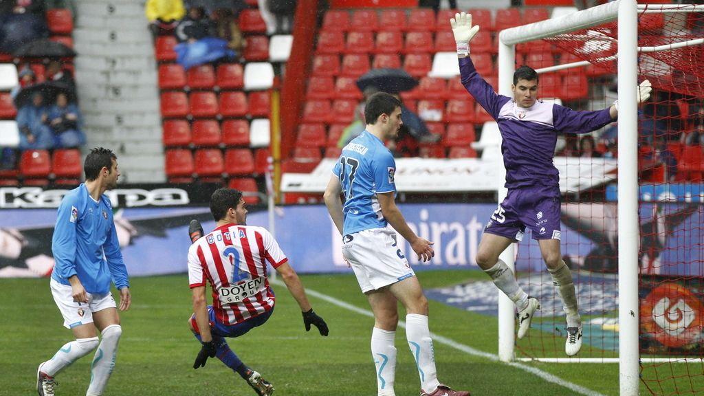 Empaque del Sporting y Osasuna