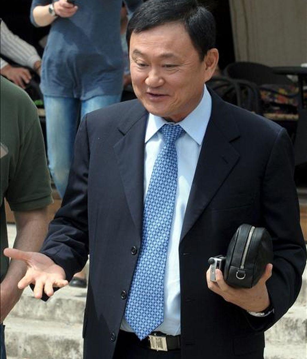 El ex primer ministro tailandés, Thaksin Shinawatra. EFE/Archivo
