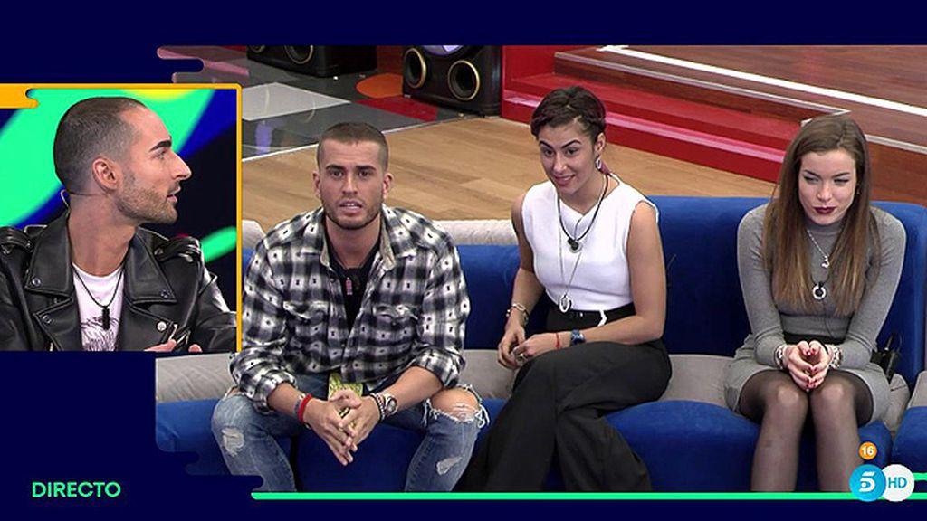 """Miguel, a los finalistas: """"Bea y Rodrigo, espero que uno de vosotros sea el ganador de 'GH 17'"""
