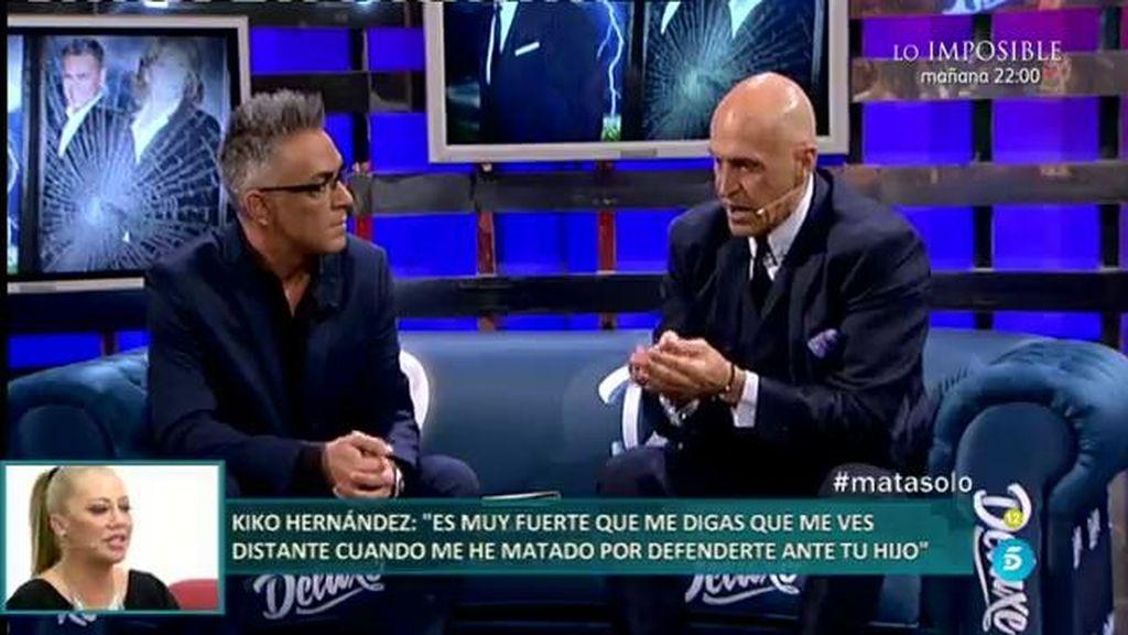 Kiko Matamoros pide perdón a Belén Esteban por calificativos inapropiados