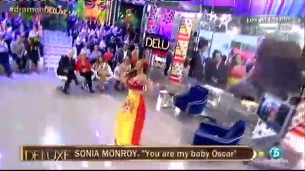 ¡Exclusiva! Sonia Monroy presenta la canción sobre su incidente en los 'Oscar'