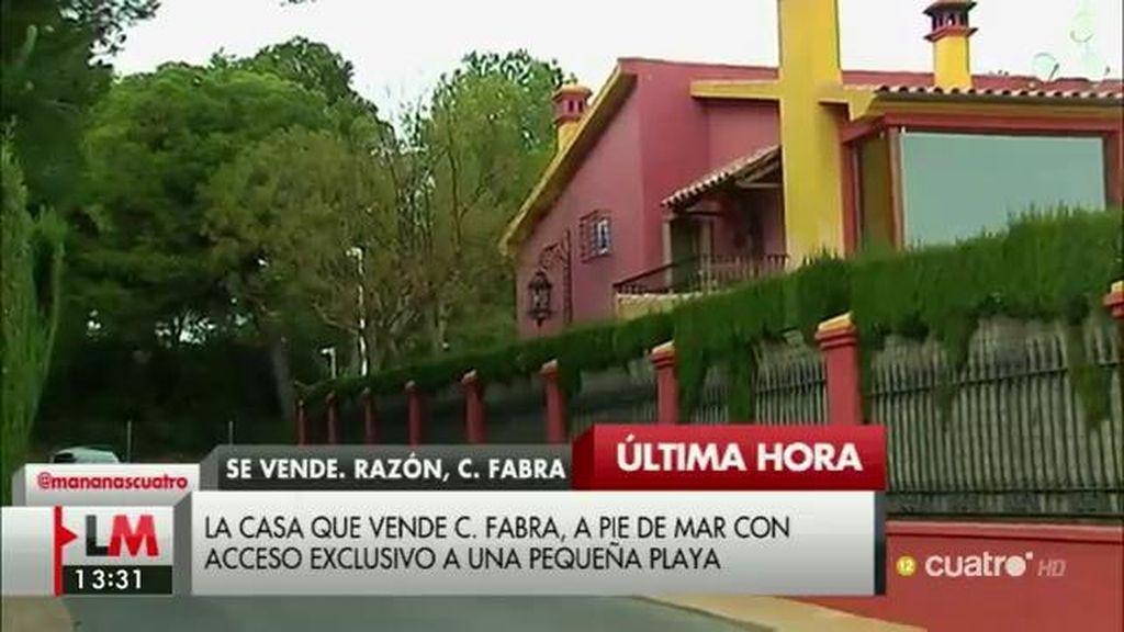 Carlos Fabra vende un enorme chalet en una zona exclusiva de Oropesa del Mar
